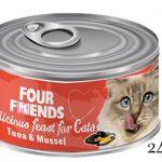 Four Friends Tuna & Mussel 24-pack
