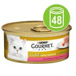 Gourmet Gold Selection 48 x 85 g - Bitar i sås