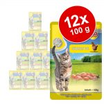MAC's Cat portionspåse 12 x 100 g - Kalv & nötkött