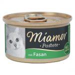 Miamor Paté 12 x 85 g - Fjäderfähjärta