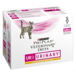 Purina Pro Plan Veterinary Diets Feline UR ST/OX - Urinary Chicken - 10 x 85 g