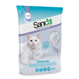 Sanicat Diamonds - Ekonomipack: 5 x 3,8 l