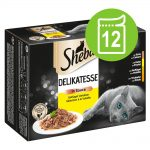 Sheba 12 x 85 g portionspåsar Delikatesse in Sauce Fjäderfä