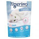 Tigerino Crystals Fresh - klumpbildande kattströ - 5 l