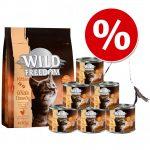 Wild Freedom Kitten startpack + kattspö 2 kg torrfoder + 6 x 200 g våtfoder