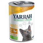 Yarrah Organic Paté 6 x 400 g - Kyckling