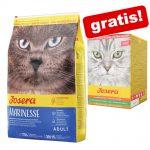 2 kg / 10 kg Josera torrfoder + 6 x 85 g Josera Paté Multipack på köpet! - Nature Cat (2 kg)