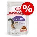 36 + 12 på köpet! 48 x 85 g Royal Canin i portionspåse - Instinctive i gelé