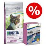 Blandpack: 2 kg Bozita torrfoder + 6 x 190 g Bozita våtfoder - Hair & Skin vetefritt