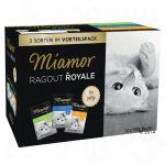 Blandpack: Miamor Ragout Royale 12 x 100 g - Multi-Mix Cream (Lax, kalv, anka & kyckling)