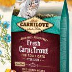 Carnilove Fresh Karp & Forell 400 g