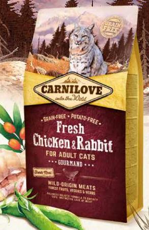 Carnilove Fresh Kyckling & Kanin 2 kg