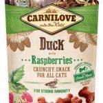 Carnilove kattgodis Crunchy Duck & Raspberries