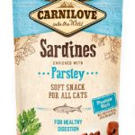 Carnilove kattgodis Semi Moist Sardine & Parsley