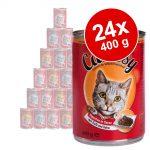 Ekonomipack: Catessy bitar i sås 24 x 400 g - Anka & lever