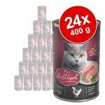 Ekonomipack: Leonardo All Meat 24 x 400 g - Rich in Rabbit