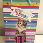 Gift bag presentpåse Birthday Wishes