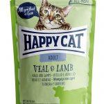 HappyCat portionspåse kalv & lamm