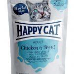 HappyCat portionspåse kyckling & forell