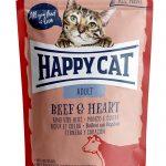 HappyCat portionspåse oxkött & hjärta