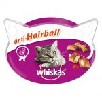 Whiskas Anti-Hairball Ekonomipack: 8 x 60 g