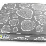 BeOneBreed Memory Foam Bed Grey Wood (Katt3)