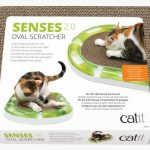 Cat It Senses 2.0 oval scratcher