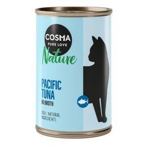 Cosma Nature 6 x 140 g Tonfisk med hela ansjovis