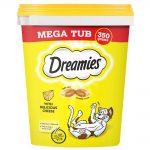 Dreamies Megatub Ekonomipack: Kyckling (2 x 350 g)