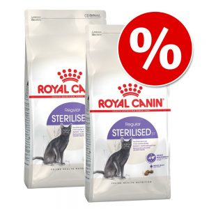 Ekonomipack: 2 x Royal Canin kattfoder till lågpris - British Shorthair 34 (2 x 10 kg)