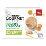 Ekonomipack: Gourmet Nature's Creations Mousse 24 x 85 g - Lax & gröna bönor