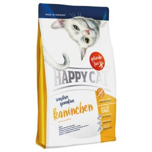 Happy Cat Sensitive Grainfree Rabbit - Ekonomipack: 2 x 4 kg