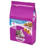 Whiskas Sterile Adult 1+ Lax - 3,6 kg