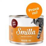 Blandat provpack: Smilla Poultry Pot - 6 x 800 g (4 sorter)