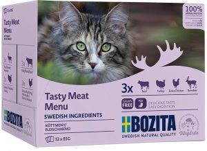 Bozita Feline mix sås kött 12 x 85 gram