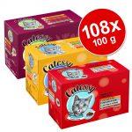 Ekonomipack: 108 x 100 g Catessy bitar i gelé och sås - 108 x 100 g med 12 olika sorter