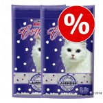 Ekonomipack: 2/3 påsar Super Benek kattsand - Corn Cat Natural (3 x 7 l)