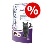 Ekonomipack: 3 x 55 g Sanabelle Cat-Stick No Grain - Ekonomipack: Anka & granatäpple 3 x 55 g