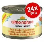 Ekonomipack: Almo Nature Classic Light 24 x 50 g - Tonggol tonfisk