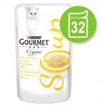 Ekonomipack: Gourmet Soup 32 x 40 g - Tonfisk & räkor