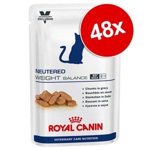 Ekonomipack: Royal Canin Vet Care Nutrition 48 x 100 g - Neutered Weight Balance