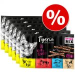 Ekonomipack: Tigeria Sticks 60 x 5 g - Mix (4 sorter)