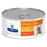 Hill's Prescription Diet Feline c/d Multicare Urinary Care - Ekonomipack: 24 x 156 g