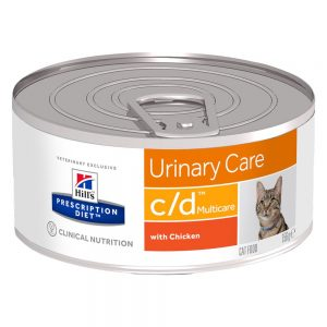 Hill's Prescription Diet Feline c/d Multicare Urinary Care - Ekonomipack: 24 x 156 g