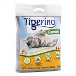 Limited Edition: Tigerino Canada kattsand - Almond Milk & Honey - Ekonomipack.: 2 x 12 kg