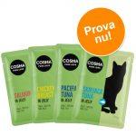 Provpack: Cosma Original i portionspåse - Blandpack 4 sorter (24 x 100 g )