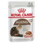 Royal Canin Ageing +12 i sås - 24 x 85 g +12 Ageing mix i sås & gelé