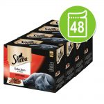 Sheba 48 x 85 g portionspåsar Delicatesse in Jelly Fjäderfä