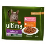 Ultima Cat Sterilized - 4 x 85 g