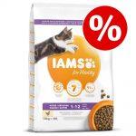 15 % rabatt på 10 kg IAMS torrfoder! - Adult Hairball Control Chicken (10 kg)